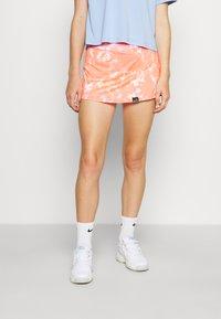 Endless - FALDA MINIMAL  - Sports skirt - orange - 0