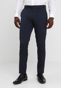Casual Friday - Oblekové kalhoty - navy - 0