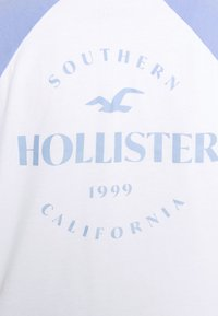 Hollister Co. - PRINT - Long sleeved top - lav luster blue - 4