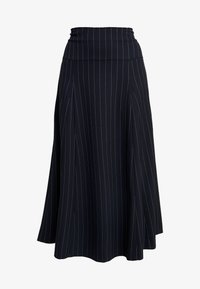 IVY & OAK - MIDI GODET SKIRT - A-line skirt - navy blue - 3