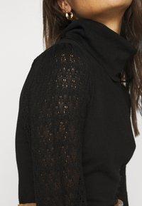 Fashion Union Petite - LAUREL - Jumper - black - 5