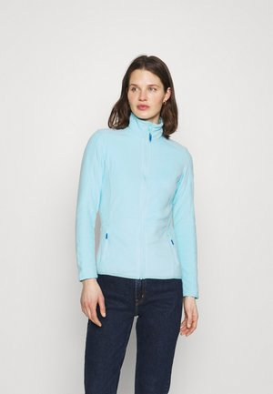 Fleecová bunda - turquoise