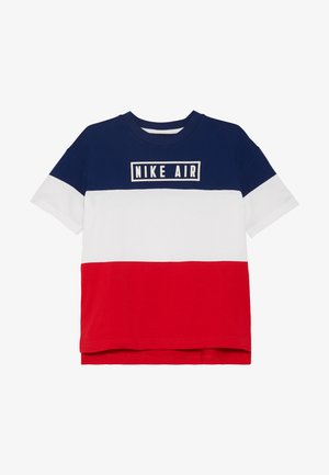 AIR - Print T-shirt - blue void/university red/white