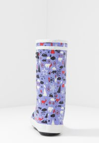 Aigle - LOLLY POP PRINT - Kumisaappaat - blue - 4