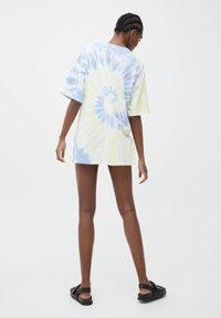 PULL&BEAR - VARSITY  - Print T-shirt - white - 2