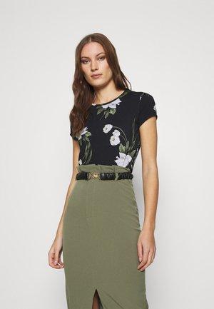 OLIEE - T-Shirt print - black