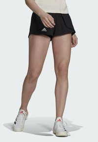 adidas Performance - T MATCH  - Pantalón corto de deporte - black - 0