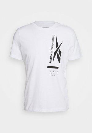 GRAPHIC TEE - Camiseta estampada - white