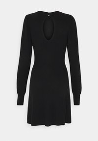 Abercrombie & Fitch - FIT FLARE DRESS - Jumper dress - black - 1