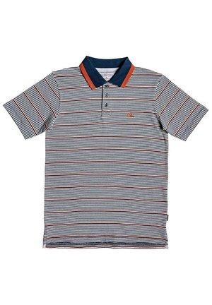 QUIKSILVER™ WATEGOS RIPPER - KURZÄRMLIGES POLO-HEMD FÜR JUNGEN 8 - Polo shirt - moonlit ocean st new polo yt