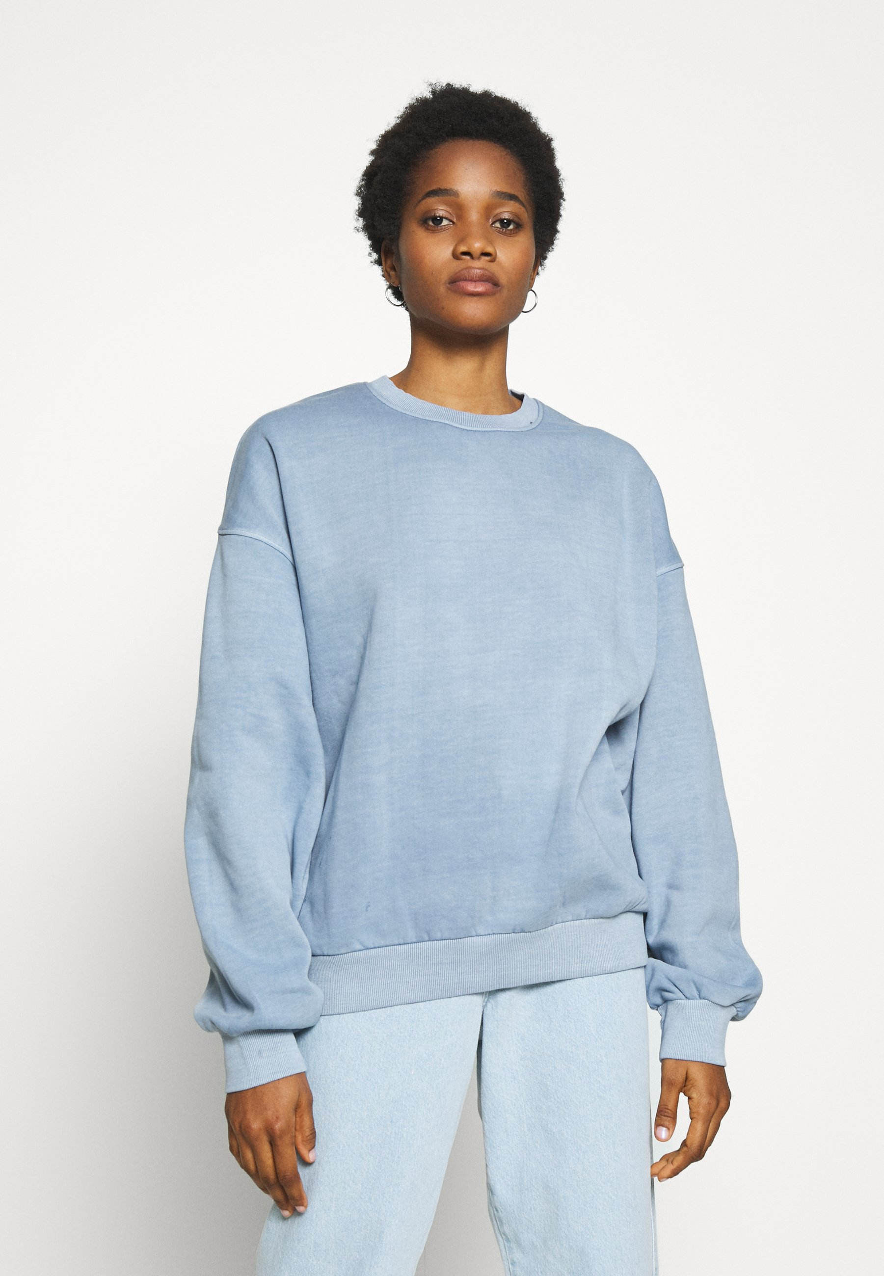 Weekday PAMELA OVERSIZED Sweater light blueLichtblauw