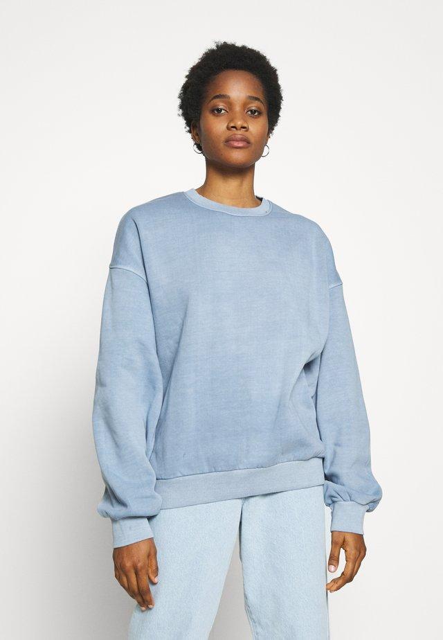 PAMELA OVERSIZED - Sweatshirt - light blue