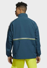 adidas Originals - TAPED ANORAK - Windbreaker - turquoise - 1