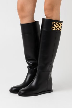 Wedge boots - nero