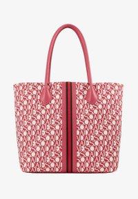 Escada Sport - CANVAS SHOPPER - Shopping bag - red - 5