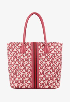 CANVAS SHOPPER - Bolso shopping - red