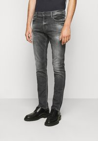 7 for all mankind - RONNIE STRETCH TEK MASSIVE - Džíny Slim Fit - dark grey - 0