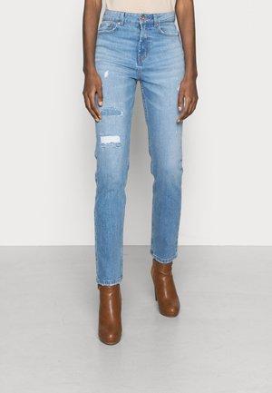 ONLEMILY REPAIRED - Jeans Slim Fit - medium blue denim