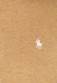 Polo Ralph Lauren - CARDIGAN LONG SLEEVE - Kardigan - collection camel melange - 5
