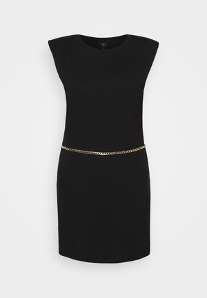 SHOULDER PAD DRESS - Cocktail dress / Party dress - black