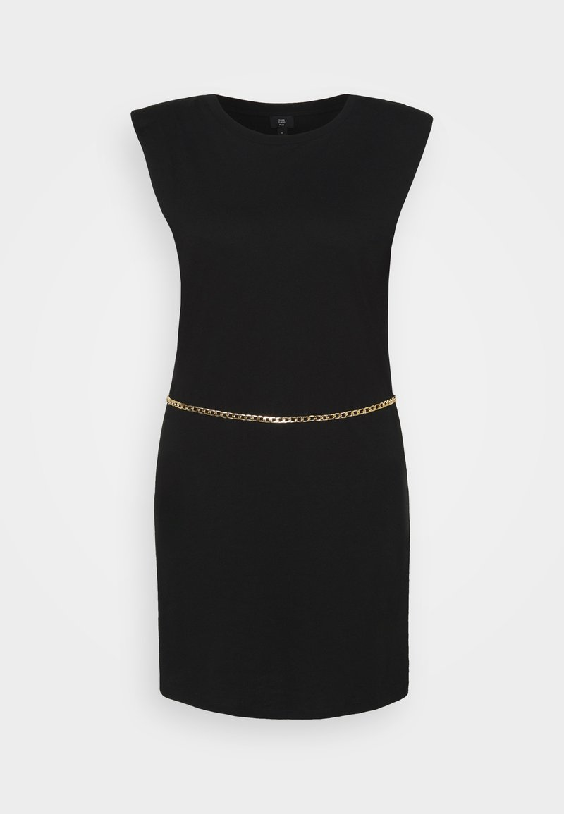 River Island Plus - SHOULDER PAD DRESS - Cocktail dress / Party dress - black