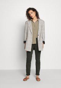 Mos Mosh - JEWEL PANT - Trousers - khaki - 1