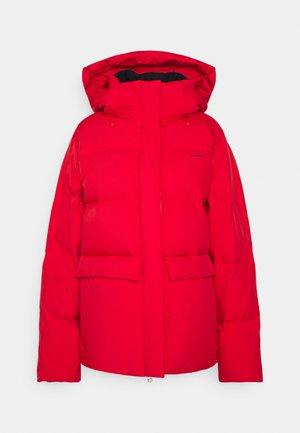 BESSEGGEN JACKET - Down coat - red
