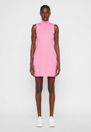 ELSA SET - Jerseykjoler - pop pink melange