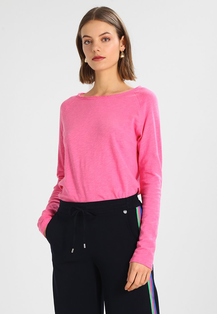 Rich & Royal - HEAVY LONGSLEEVE - Long sleeved top - pink