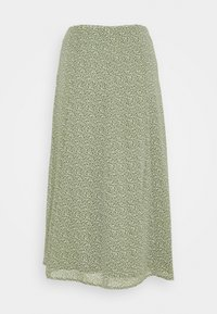 edc by Esprit - SKIRT - A-line skirt - light khaki - 1