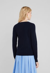 Repeat - CREW NECK CASHMERE - Sweter - navy - 2