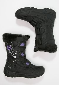 LICO - MARY  - Winter boots - schwarz/lila - 1