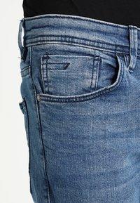 TOM TAILOR DENIM - CULVER - Slim fit jeans - light stone wash denim - 3