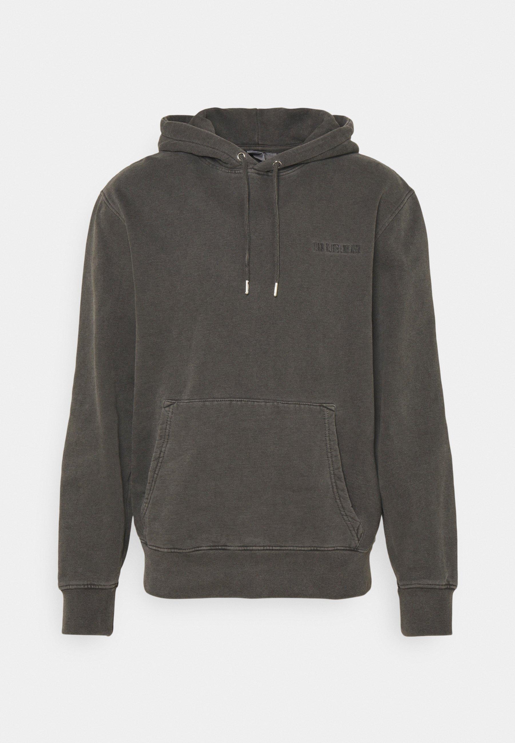 Herren CASUAL HOODIE - Sweatshirt - dark grey