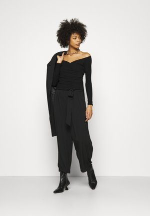 SONAY - Long sleeved top - jet black