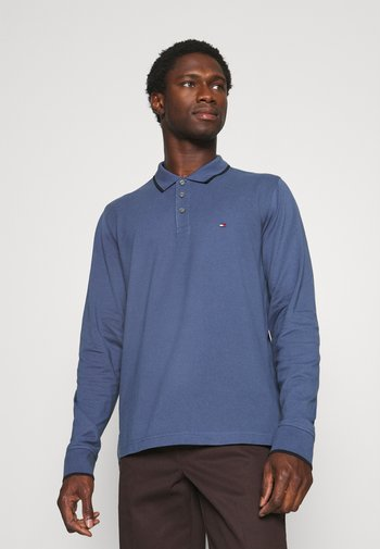 BASIC TIPPED REGULAR - Polo shirt - faded indigo