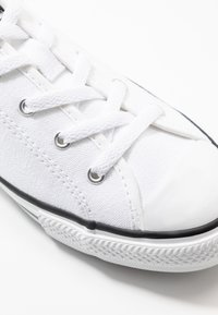 Converse - CHUCK TAYLOR ALL STAR DAINTY MULE - Trainers - white/black - 2