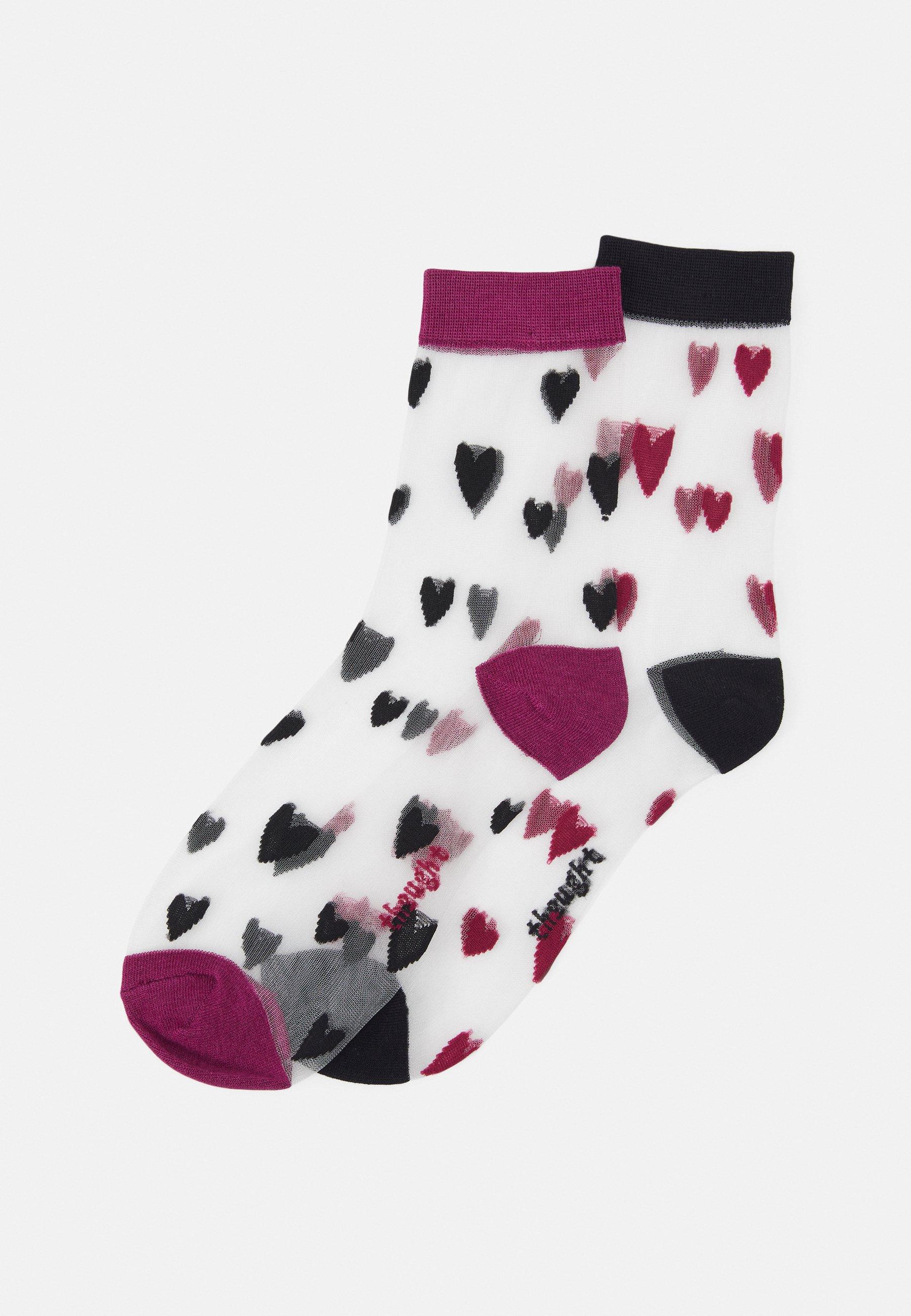 Femme ZARI HEART SOCKS 2 PACK - Chaussettes