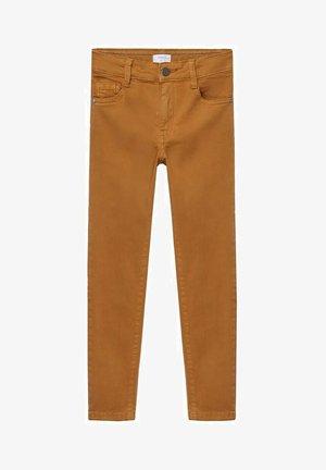 PERU - Slim fit jeans - mosterd