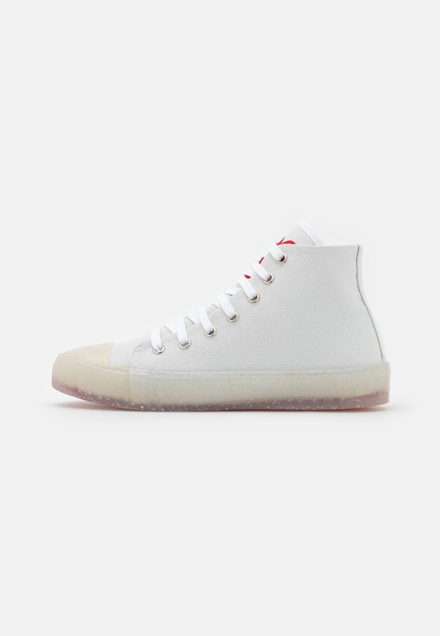 High-top trainers - bianco