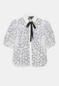 Sister Jane - SNOWY GRASSLAND PUFF SLEEVE  - Print T-shirt - ivory - 0