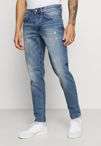 Redefined Rebel - CHICAGO - Jeans Tapered Fit - perfect indigo - 0