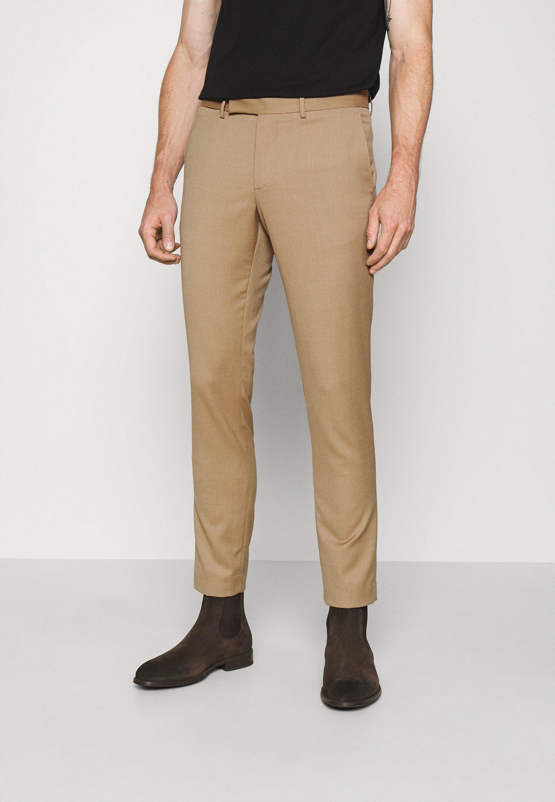Homme GRANT MICRO STRUCTURE PANTS - Pantalon classique