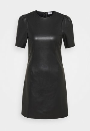 NMHILL SHORT DRESS - Day dress - black