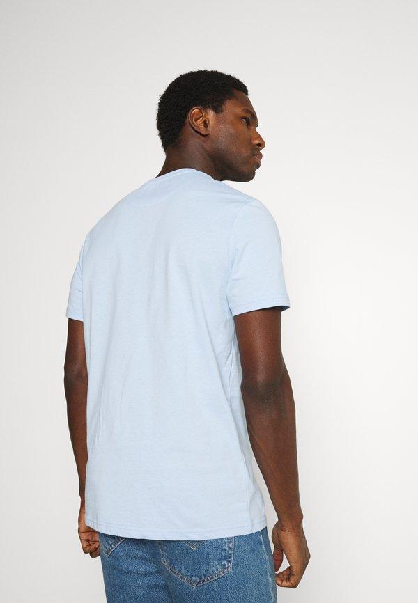 Lyle & Scott PLAIN - T-shirt basic - pool blue/jasnoniebieski Odzież Męska XOKZ
