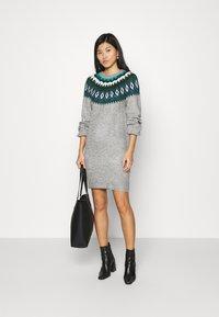 NAF NAF - Shift dress - gris clair - 1