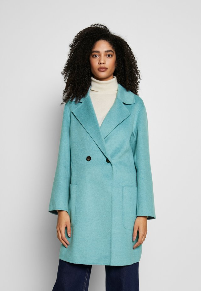 DOUBLE FACE COAT - Klassinen takki - pale blue