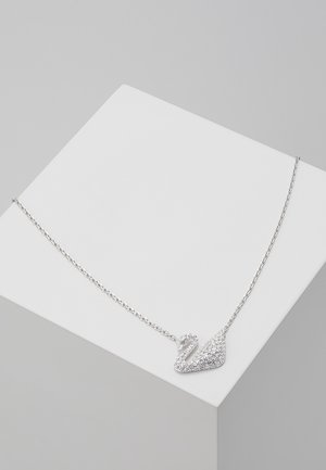 SWAN NECKLACE  - Halskette - silver-coloured