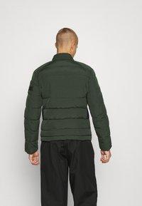 Antony Morato - COAT IN TECHNO FABRIC CONTRAST IN COMPOUNDNYLON - Light jacket - bottle green - 2