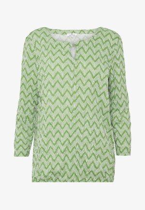 CRINCLE - Long sleeved top - green